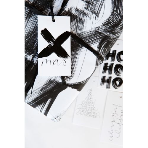 Ylva Skarp / Papírový vánoční štítek Xmas