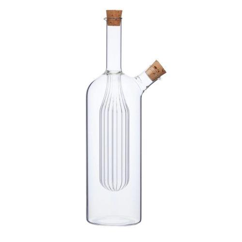 Kitchen Craft / Sklenená fľaštička na ocot a olej 2v1