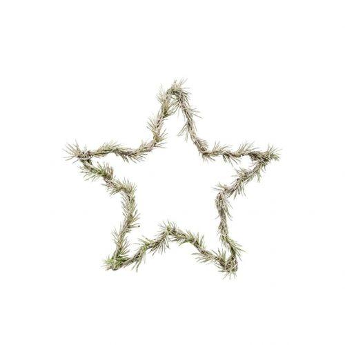 House Doctor / Vianočná LED hviezda Star Nature 25 cm