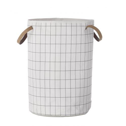 ferm LIVING / Textilný koš na prádlo Grid