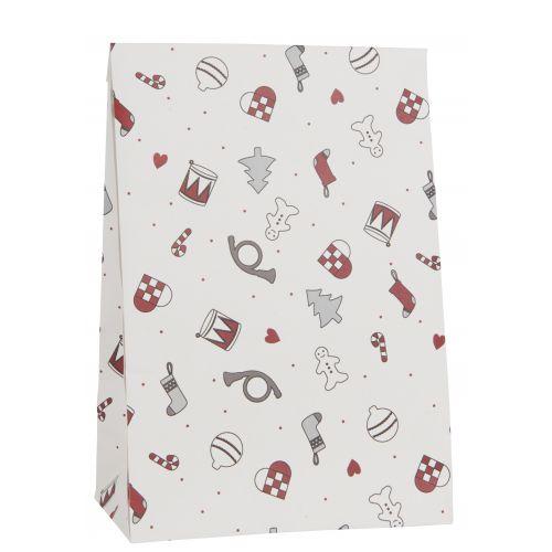 IB LAURSEN / Papierový sáčok Christmas 28,5cm