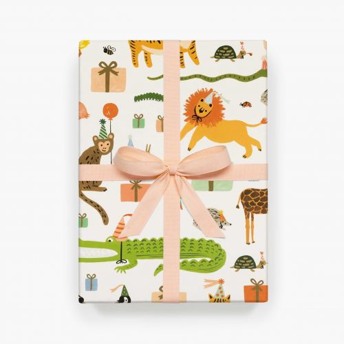 Rifle Paper Co. / Balicí papír Party Animals - 1 list