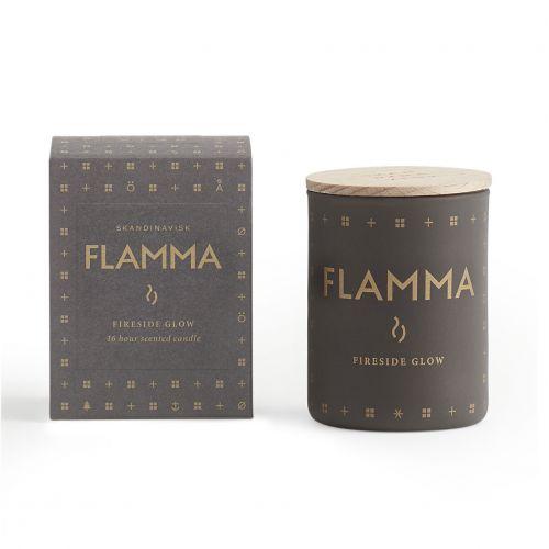 SKANDINAVISK / Vonná sviečka FLAMMA (plameň) mini 55 g