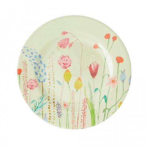 rice / Melamínový tanier Summer Flowers