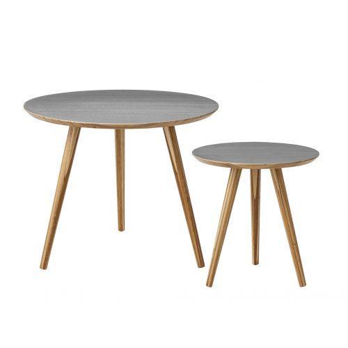 Bloomingville / Bambusový konferenčný stolík Grey