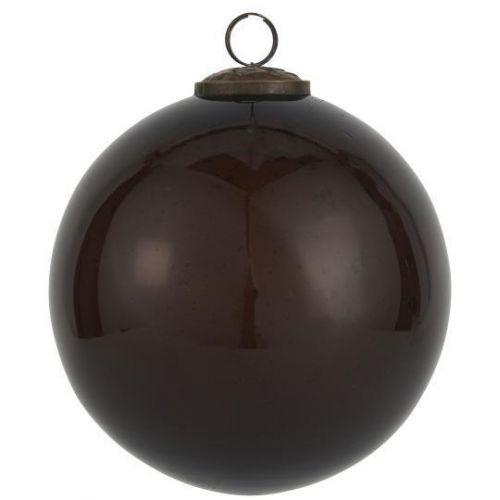 IB LAURSEN / Vianočná ozdoba Pebbled Glass Bordeaux 9,5 cm
