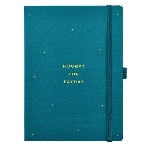 Busy B / Denník na domáce účtovníctvo Budget Book Green