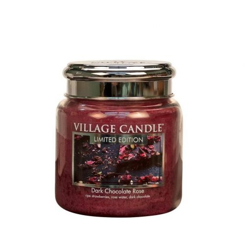 VILLAGE CANDLE / Svíčka Village Candle - Dark Chocolate Rose 92gr