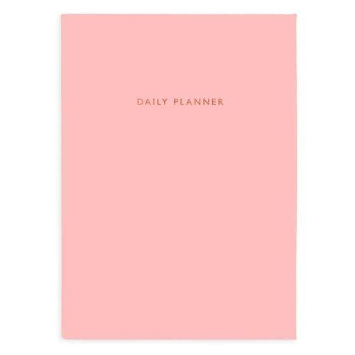 Ohh Deer / Denný nedatovaný diár Baby Pink Linen