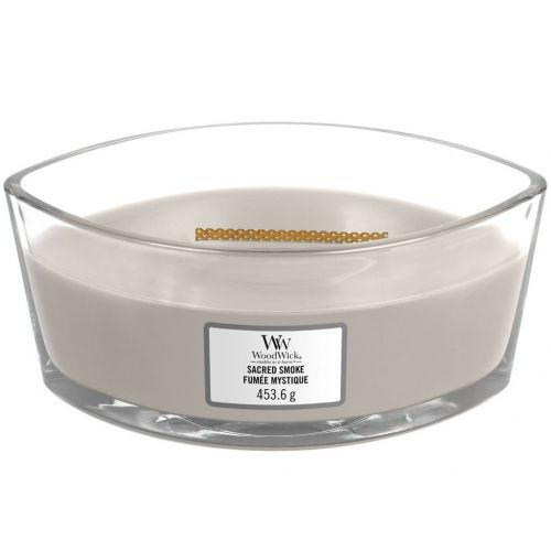 WoodWick / Vonná sviečka WoodWick - Sacred Smoke 454g