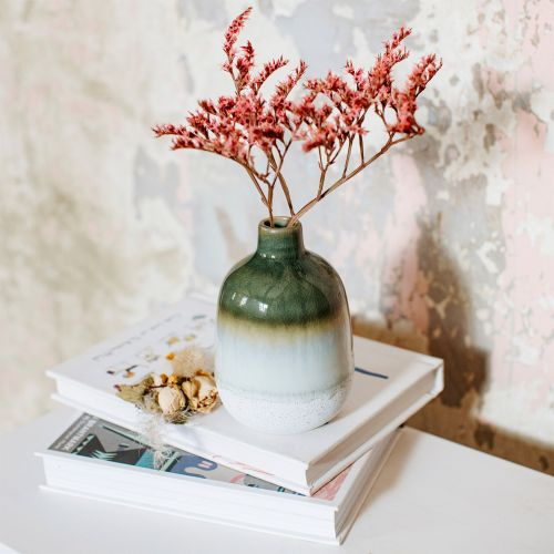 sass & belle / Keramická váza Mojave Green Glaze