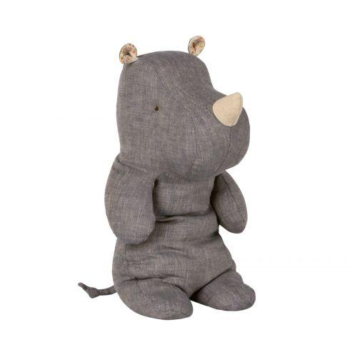 Maileg / Textilný nosorožec Rhino Blue Medium