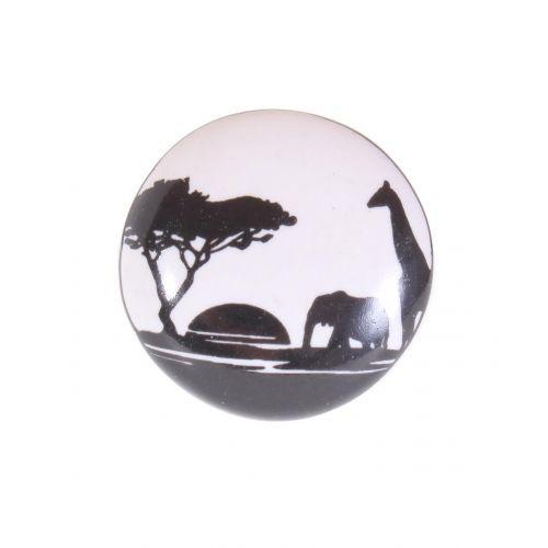 La finesse / Porcelánová úchytka Africa