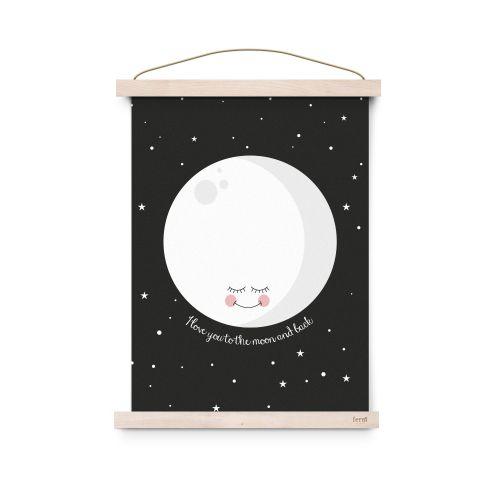 EEF lillemor / Plagát Black Moon A3
