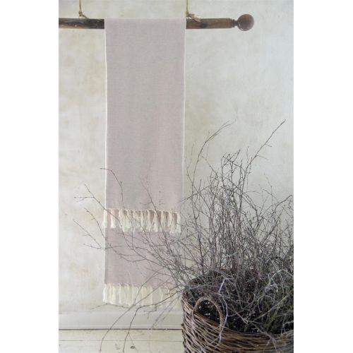Jeanne d'Arc Living / Osuška z recyklovanej bavlny Cream 100x200 cm