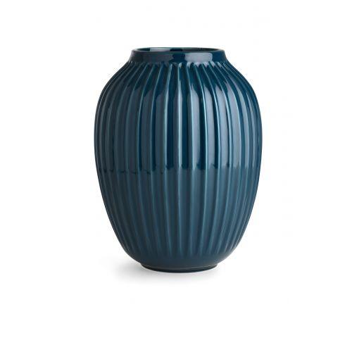 KÄHLER / Keramická váza Hammershøi Petroleum 25 cm