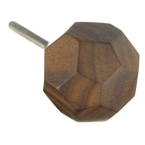 MADAM STOLTZ / Dřevěná úchytka Diamond