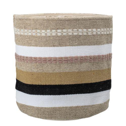 Bloomingville / Dekoratívny vlnený kôš Wool Spring Basket