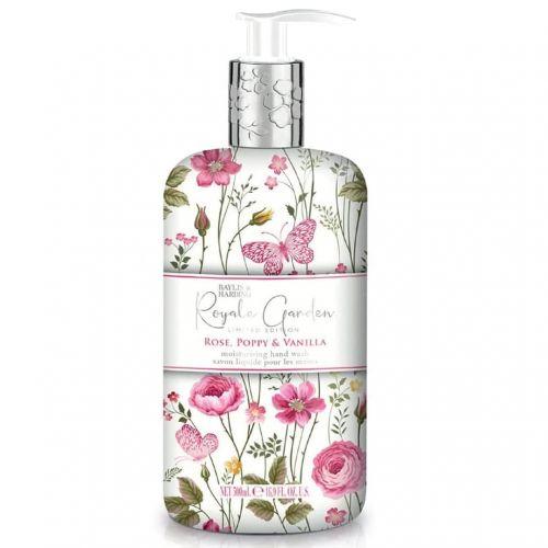 Baylis & Harding / Tekuté mydlo na ruky Rose, Poppy & Vanilla 500ml