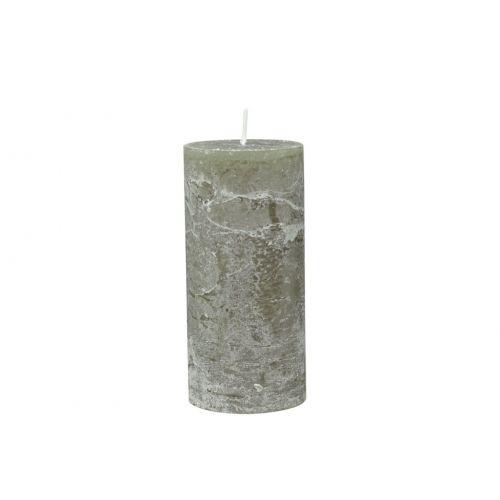 Chic Antique / Klasická sviečka Rustic Olive 15cm