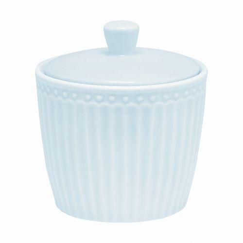GREEN GATE / Porcelánová cukornička Alice pale blue