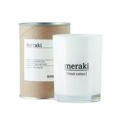 meraki / Vonná sviečka Fresh Cotton
