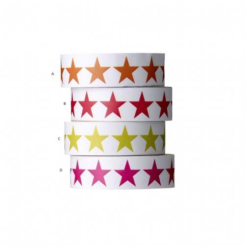 Bloomingville / Samolepiaca designová páska - Stars