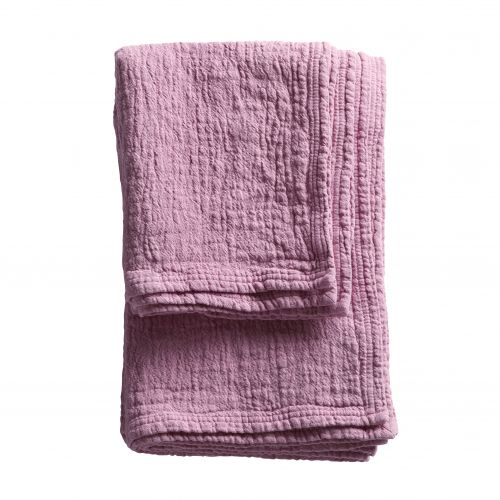 Tine K Home / Bavlnený uterák Pink 50x100 cm