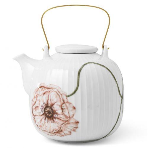 KÄHLER / Porcelánová čajová kanvica Hammershøi Poppy