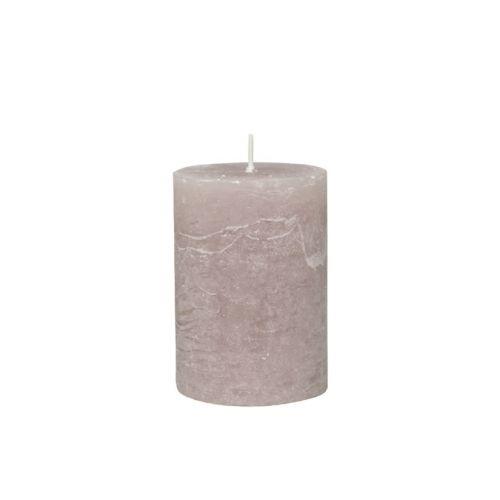 Chic Antique / Klasická sviečka Rustic Taupe 10cm