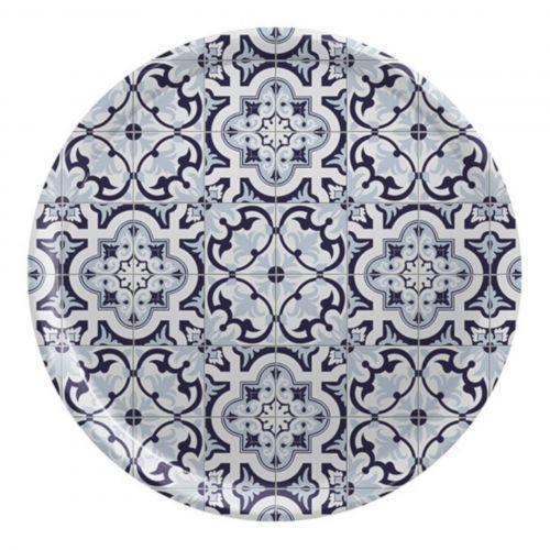 TAFELGUT / Okrúhla tácka Maroccan Pattern Ø 38 cm