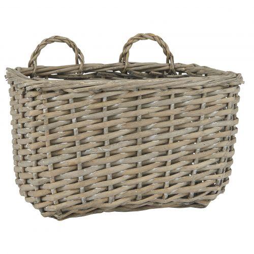 IB LAURSEN / Prútený závesný košík Wallhanging Basket