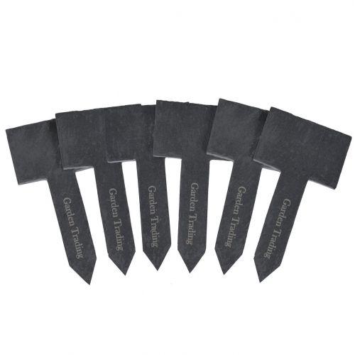 Garden Trading / Bridlicové zápichy na bylinky - set 6 ks