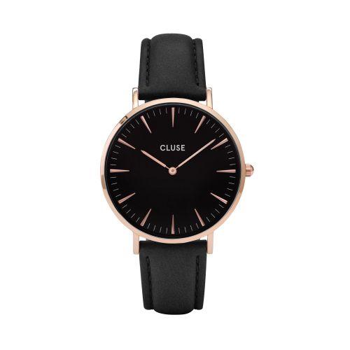 CLUSE / Hodinky Cluse La Bohéme Rose Gold black/black