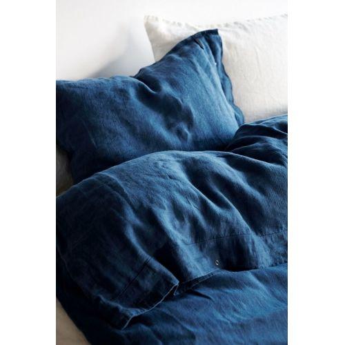 Lovely Linen / Prírodné ľanové obliečky Blue