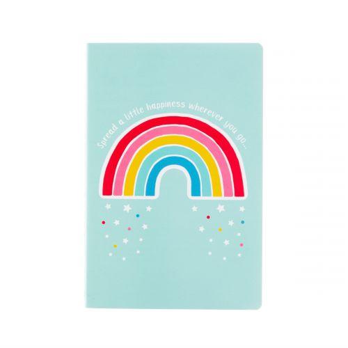 sass & belle / Zápisník Chasing Rainbows A5