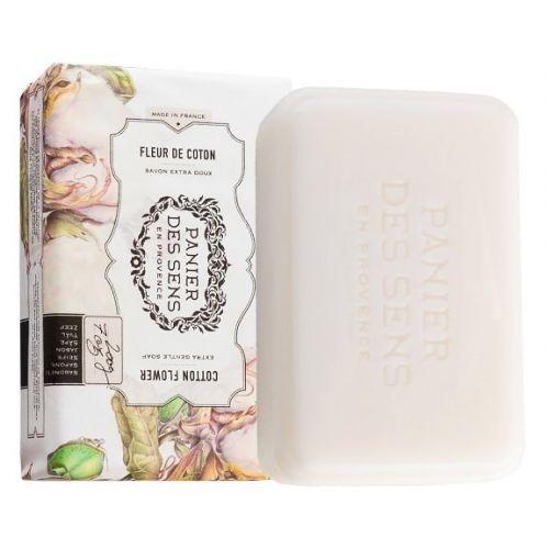 Panier des Sens / Extra jemné rastlinné mydlo Cotton Flower 200g