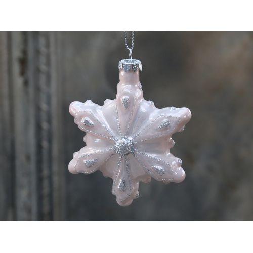 Chic Antique / Vánoční ozdoba Ice crystal