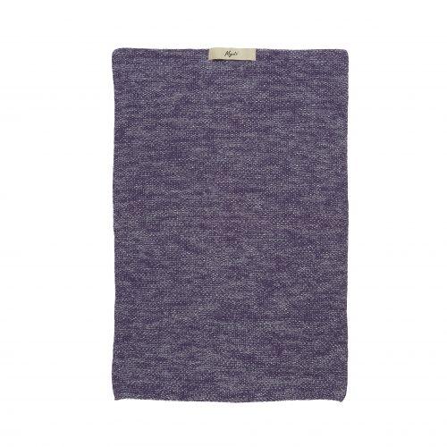 IB LAURSEN / Pletený uterák Mynte Purple