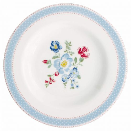 GREEN GATE / Porcelánový tanierik Evie White