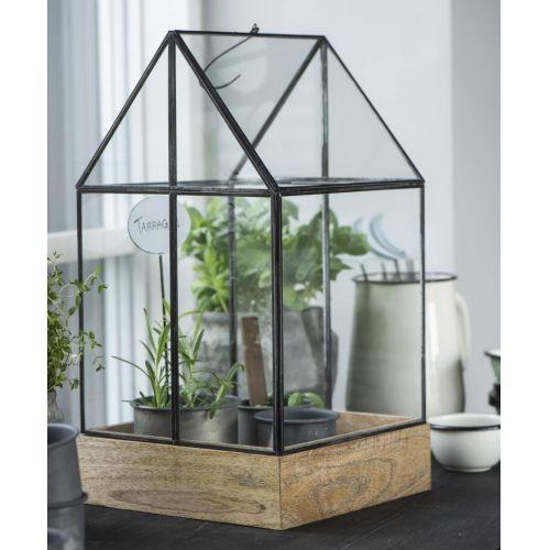IB LAURSEN / Skleník na kvety Greenhouse 48 cm