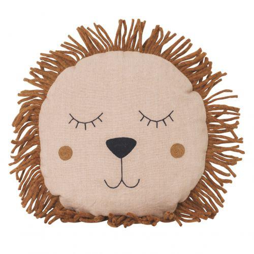 ferm LIVING / Detský vankúš Safari Lion Rose