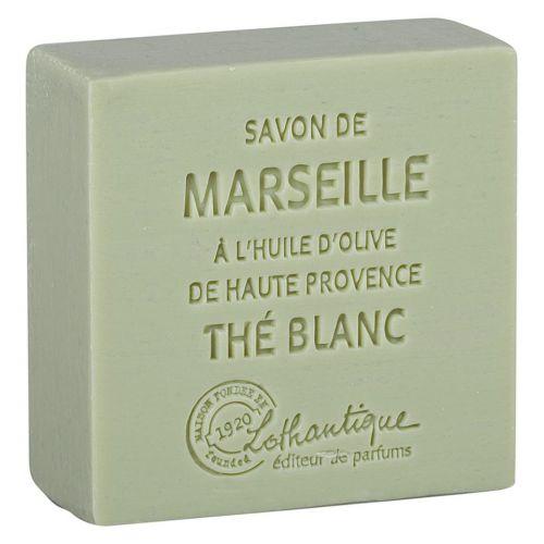 Lothantique / Marseillské mydlo White Tea 100g