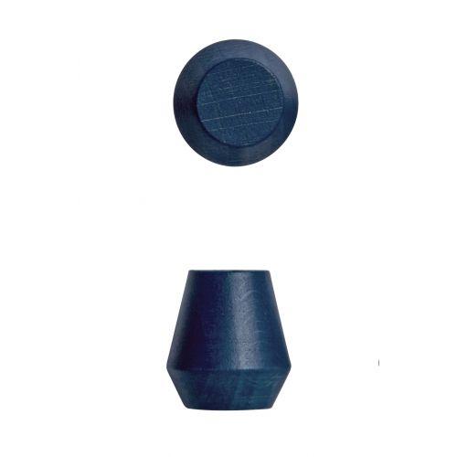 OYOY / Drevený háčik Saki Dark blue - 2 ks