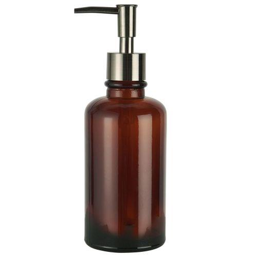 IB LAURSEN / Sklenený dávkovač mydla Brown Glass