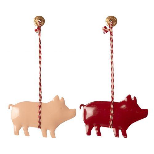 Maileg / Vianočná kovová ozdoba Pig