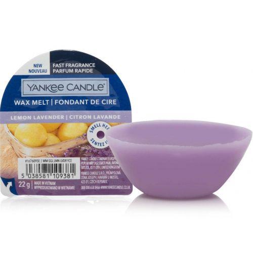 Yankee Candle / Vosk do aromalampy Yankee Candle 22 g - Lemon Lavender