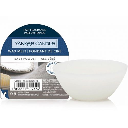 Yankee Candle / Vosk do aromalampy Yankee Candle 22 g - Baby Powder