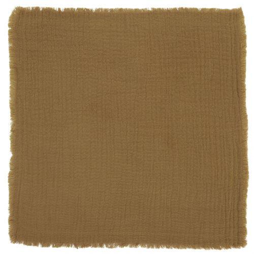 IB LAURSEN / Bavlnený obrúsok Double Weaving Mustard