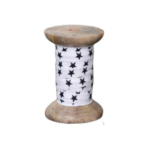 Chic Antique / Dekoratívna bavlnená stuha Stars